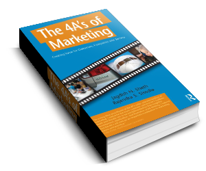 The 4A's of Marketing by Jag Sheth and Raj Sisodia